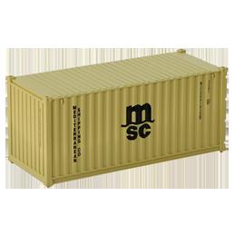 Container 20 pieds MSC
