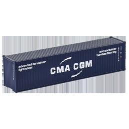 Container 40 pieds CMA-CGM