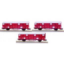 Ensemble de 2 wagons Gbhs +...