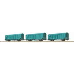 Ensemble de 3 wagons Hbccqs...