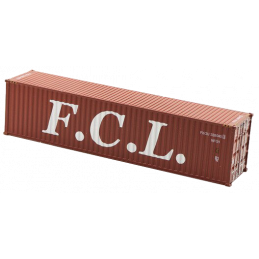 *Container 40 pieds FCL